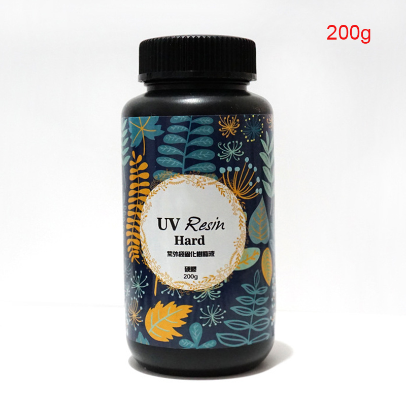 UV Ultraviolet Resin Gel Curing Quick-drying Non-toxic Transparent Sunlight Activated Hard 669