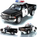 Cool New Classic Toys Pull Back Alloy Car Model Dodge Ram Pickup Police CCar Toy Boy Toys For Baby Gift Scale 1:43