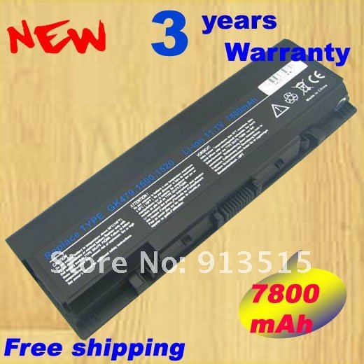 Laptop Battery for Dell Inspiron 1520 1521 1720 1721 Vostro 1500 1700 312-0504 312-0575 FK890 FP282 312-0589 451-10476 312-0594