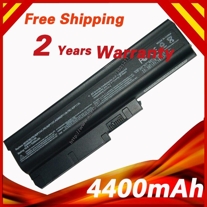 Golooloo 4400mAh Da Bateria Do Portátil para Lenovo Thinkpad T500 T60 T60p T61 T61P W500 92P1137 92P1139 92P1141 R500 40Y6799 42T5233