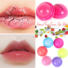 6 цветов натуральный фруктовый эссенция бальзам для губ шариковый шар губная помада против трещин увлажняющая Гигиеническая помада милый бальзам для губ