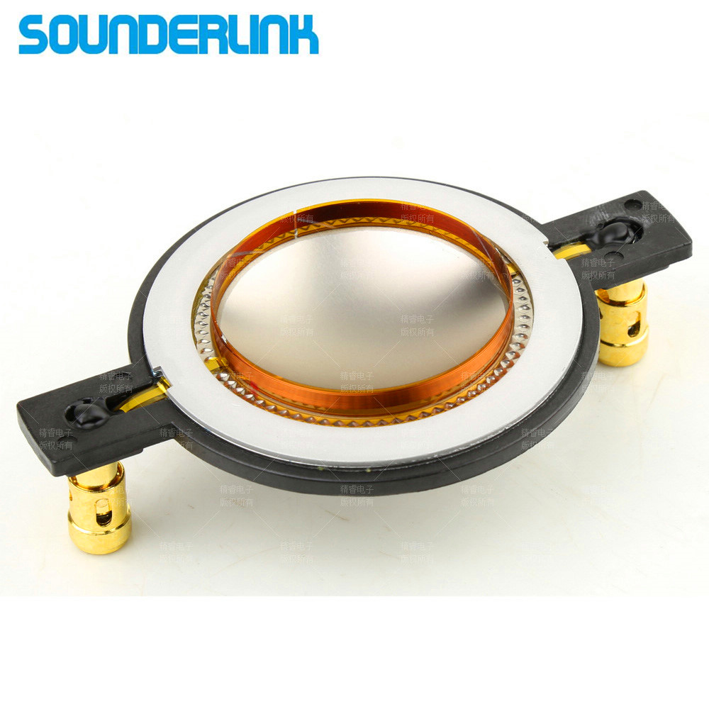 2pcs/lot 44.4mm 44.5MM replacement speaker part components Tweeter Speaker DIY 8O Dome diaphragm film Replace Voice coil