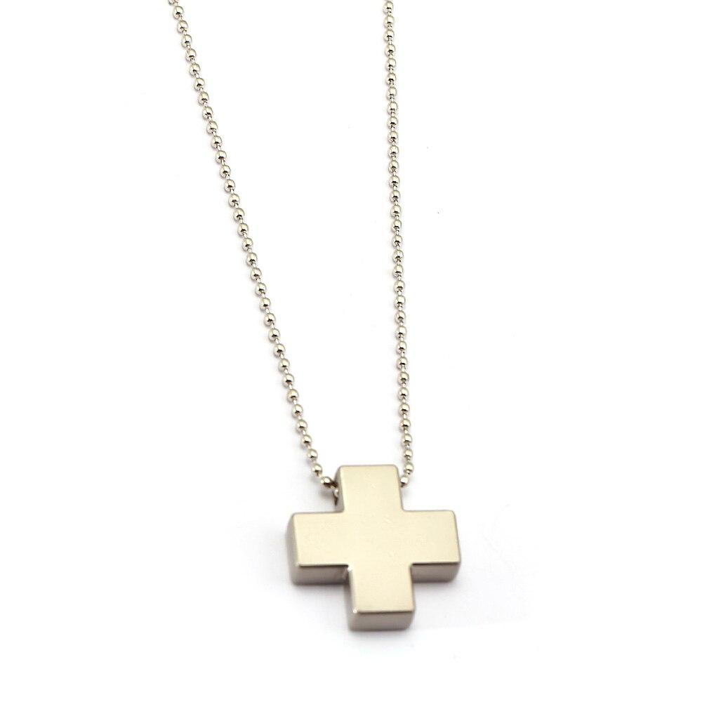 Women Statement Necklace Neon Genesis Evangelion Misato Katsuragi EVA Cross Pendants Choker Men Charm Gift