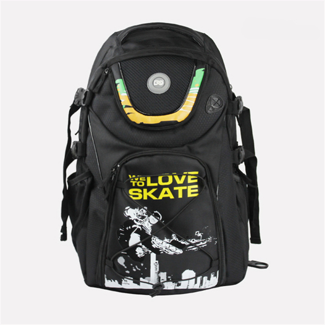 be6cdf6cefe3 Powerslide WE LOVE TO SKATE DC backpack Inline Skates Container JUST FOR SKATE  Skating Bag for Roller Skate Shoes EUR 44 Maximum