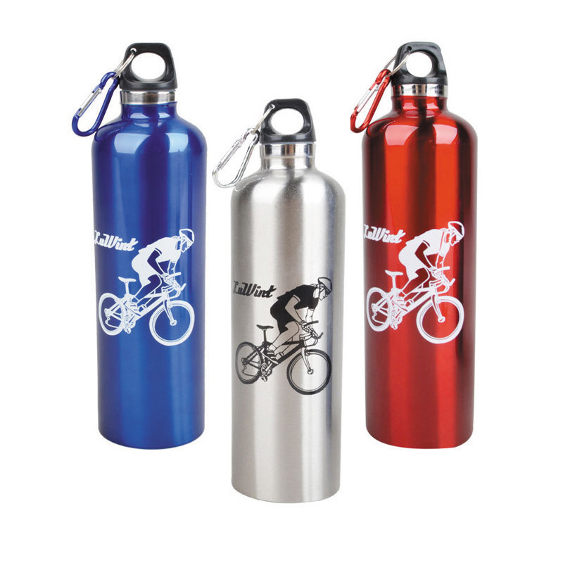 New Stainless Steel Bicycle Water Bottle 750ml Thermal Insulation Cycling Water Bottle For Mountain Bike Sport Bottle 3 Color