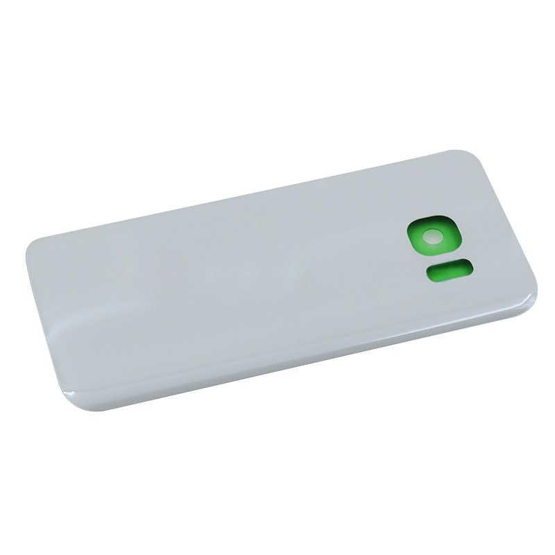 Superficie ORIGINAL de la carcasa de cristal trasero para Samsung Galaxy S7 S7 Edge cubierta trasera G935 G935F G930 G930F SM-G930 batería de la puerta trasera