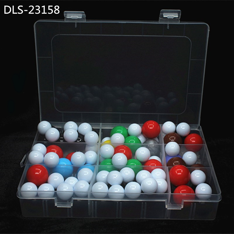 DLS-23158 Molecular Model 158pcs 23mm Dia. Organic Chemistry Molecules Structure Model For Chemistry Teaching Ship With Box
