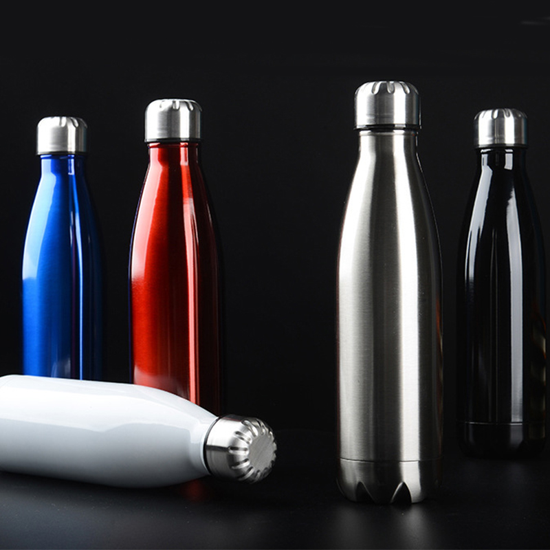 500ml sports water bottle Cycling Camping Bicycle Sports stainless steel