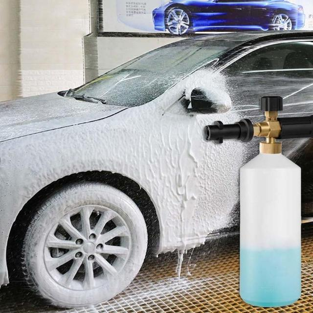 VODOOL רכב לשטוף לאנס גבוהה לחץ סבון Foamer שלג קצף מנקה רכב אוטומטי לשטוף ערכת מרסס קומקום לאנס coche קארו