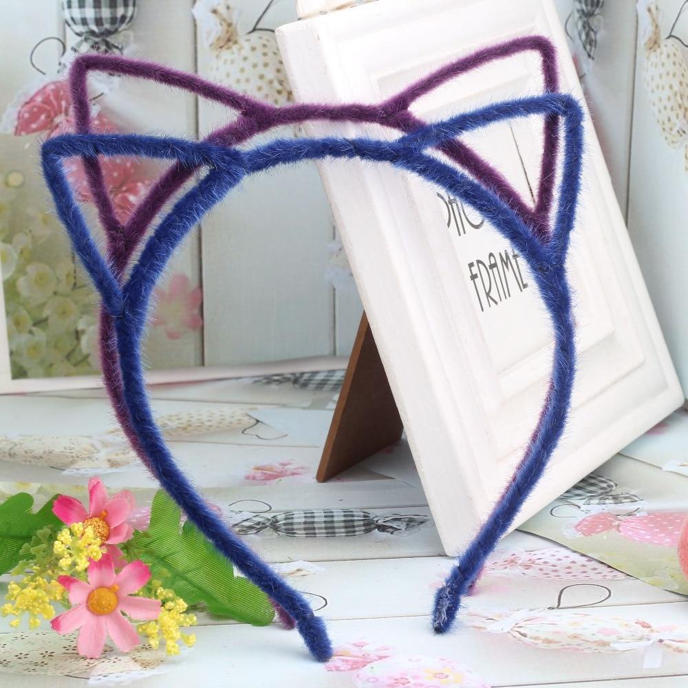 girls cat ear headband
