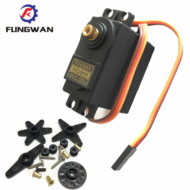 ENET 180 Degrees Rotation Servo Gears Standard High Torque S3003 for Futaba RC Car Plane Helicopter Airplane Boat Model 4PCS