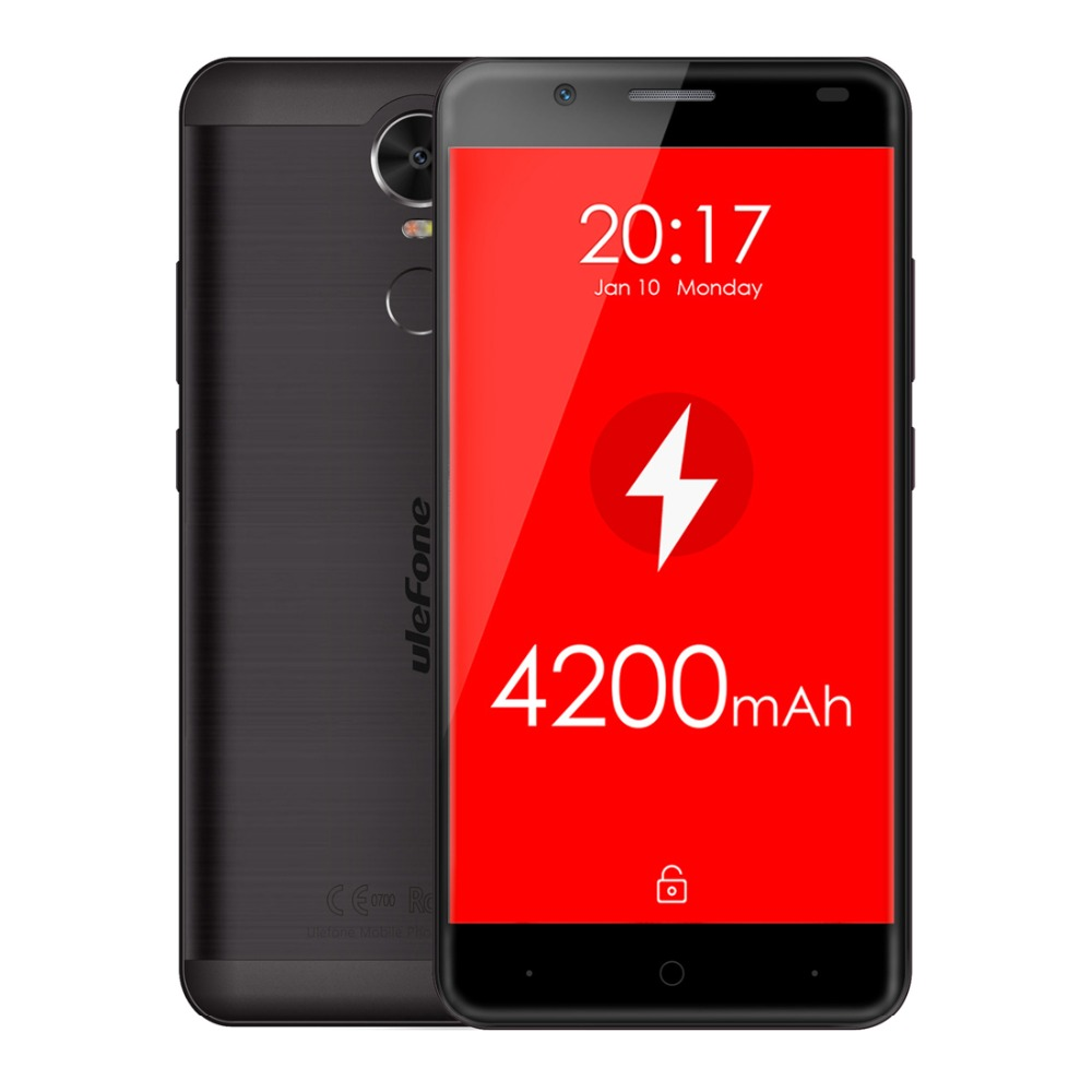 Tigre Original Ulefone Smartphone 5.5 Pulgadas Android 6.0 MT6737 Quad Core Telé