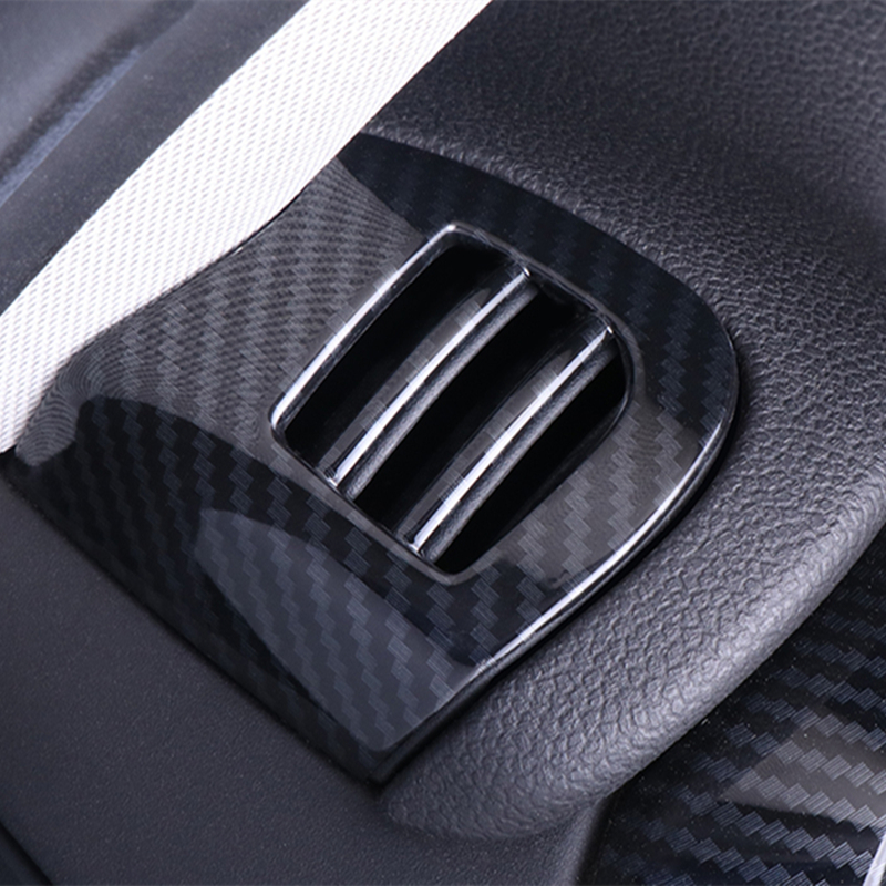 Carbon Fiber Air Vent Cover Interior Decorative Handle Vent Console Panel Case Housing For Mini Copper F55 F56 F57 Accessories