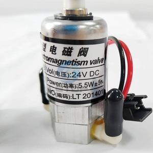 Image 5 - Ücretsiz kargo 3 adet LETOP Allwin Myjet Solvent geniş Format yazıcı mürekkep vana Solenoid 24V 3 yollu vana yazıcı
