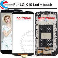 5.3 LCD For LG K10 Display Screen with Frame Digitizer Assembly Display For LG K10 LCD K10 LTE K430 K430DS K430Y K420N