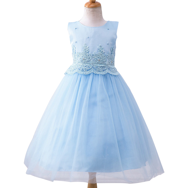 Brand Baby Girl Dress Children Kids Dresses For Girls 3 - 12 Year Birthday Outfits Dresses Girls Evening Party Formal Wear new summer pink children dresses for girls kids formal wear princess dress for baby girl 3 8 year birthday party dress
