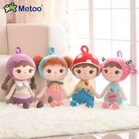 Metoo Puppen Angefüllte aktualisiert stil Süße Nette Baby Kinder Spielzeug Mädchen Geburtstag Weihnachten Fantasie Keppel Puppe Cartoon Plüschtier S58