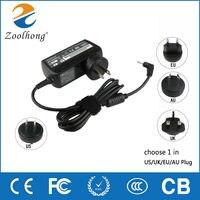 Carregador adaptador de potência  carregador de adaptador de laptop ac 12v 3.33a 40w para samsung smart pc 500t xe300tzc xe300tzci .pdf pro 700t 2.5mm * 0.7mm