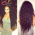 Density 150% Kinky Curly Human Hair Full Lace Wigs Virgin Brazilian Curly Hair Glueless Lace Front Wigs For Black Women