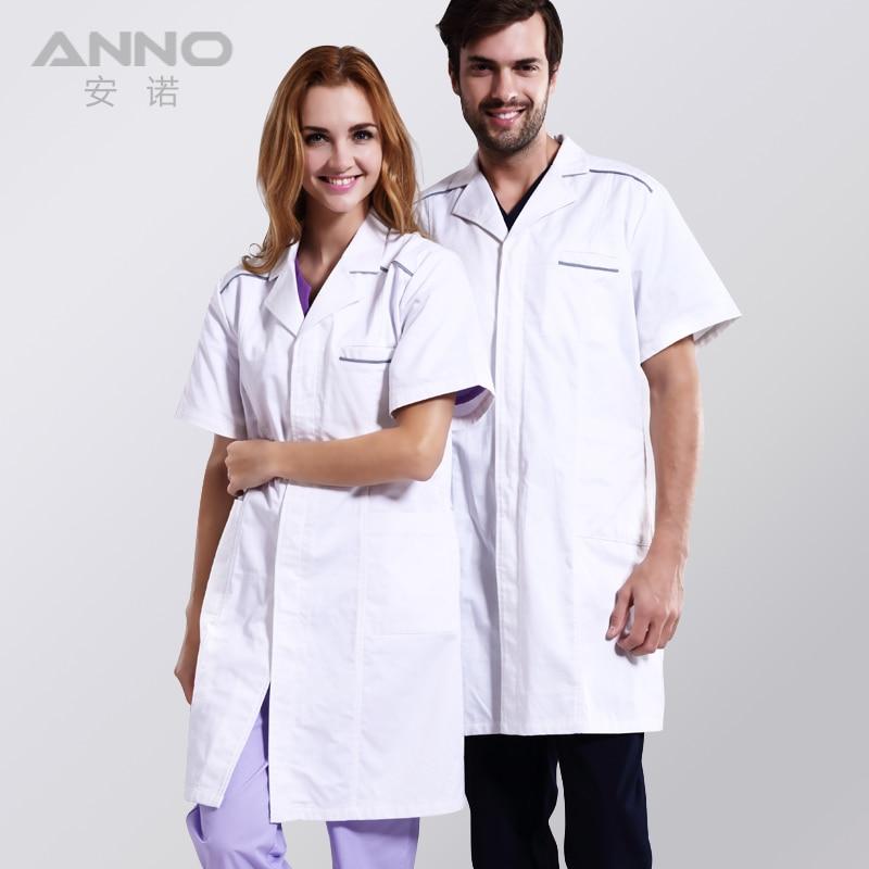 Aliexpress.com : Buy Men Women white doctor medical lab coat ...