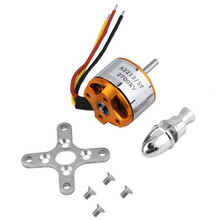 High Quality A2212 KV2700 Brushless Electric Motor for RC Fixed Wing 4-Axis Multicopter Toys Wholesale Free Shipping