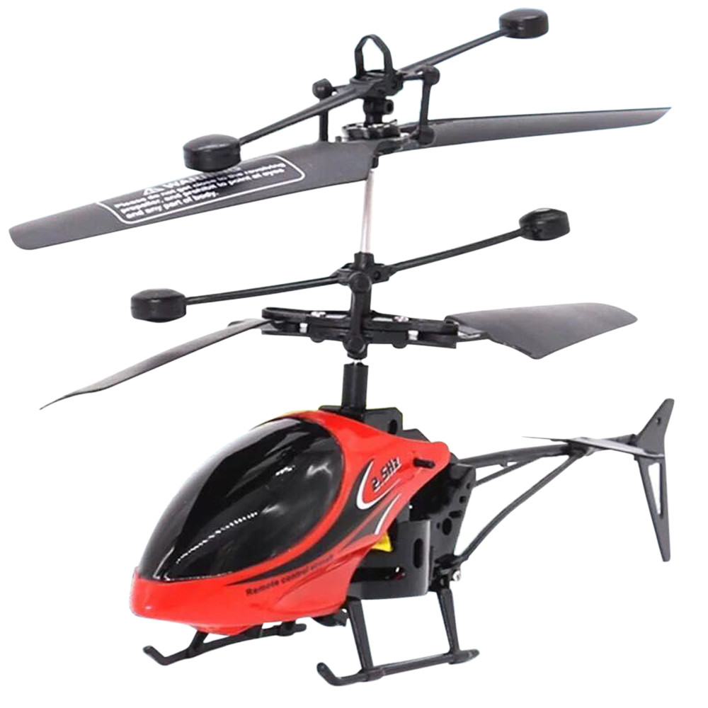 Hiinst Helicopter Quality Plastic RC 901 2CH Flying Mini RC Infraed Induction Aircraft Micro Controller Flashing Light Toys