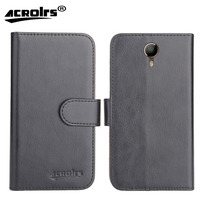Micromax Canvas 6 E485 Case Factory Direct! 6 Colors Leather Exclusive 100% Special Phone Cover Crazy Horse Cases+Tracking
