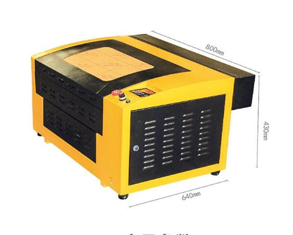 Système de positionnement infrarouge BRICOLAGE Co2 laser machine de gravure machine de découpe GY-G430