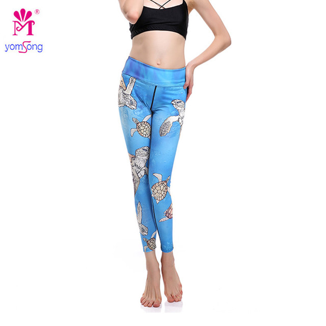 2016 Women's Trouser Turtle Significantly Thin Lift Hip Leggings Air Permeability Super Elastic Quick Dry Long Pant 893