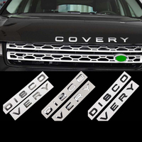 Car auto parts 3D stickers words vehicle logo emblem for Land Rover Discovery 3 4 5 sport Vehicle all series year free shipping