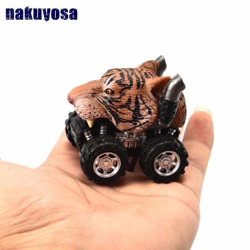 Simulation animal model Dinosaur,Leopard, zebra,Vehicle Mini Shark,giraffe,dolphinToy Truck Tiger Pull Back Car Boy Toys gifts
