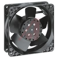 Ebmpapst 4606X cooling fan size 119x119x38mm 18W 115V AC Axial fan air flow 180m3/h 3100rpm