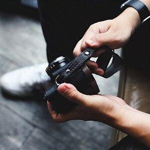 Image 5 - יד עור בעבודת יד מצלמה ליקה Fuji Sony אולימפוס Canon ניקון ראי מצלמה