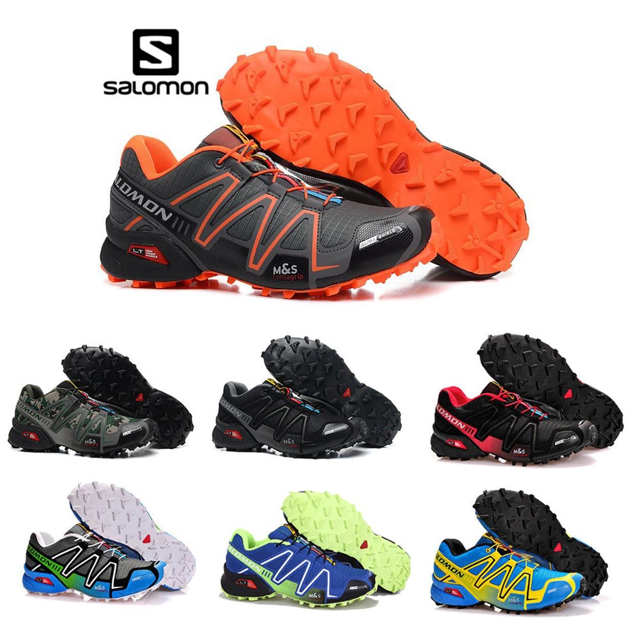 Salomon Speed Cross 3 CS quer-land laufschuhe Marke Turnschuhe Männlich Sportlich Sport Schuhe SPEEDCROS Fechten Schuhe