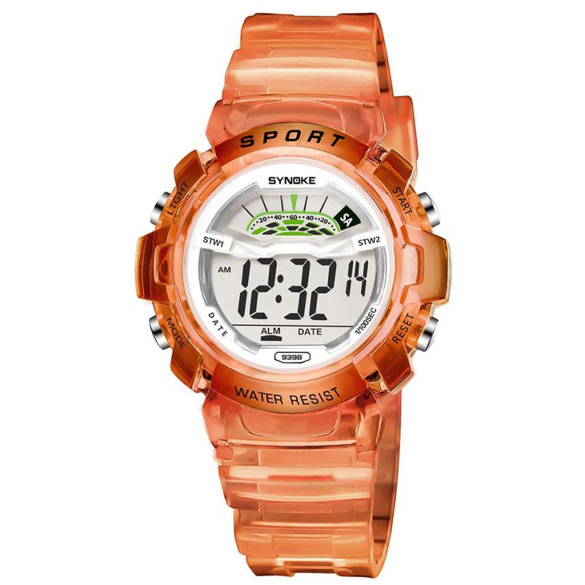 SYNOKE Children Boy Child Student Wodoodporny zegarek sportowy Data - Męskie zegarki - Zdjęcie 3