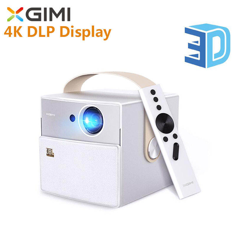 Intellective Xgimi Cc Mini Draagbare Projector Mstar 6a638 Bluetooth Android Draadloze Projector Led Full Hd 1080 P 4 K Dlp Display Ondersteuning 3d