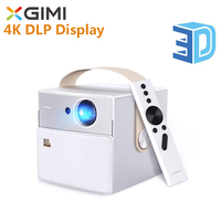 XGIMI CC Mini Portable Projector MSTAR 6A638 Bluetooth Android Wireless Projector LED Full HD 1080P 4K DLP Display Support 3D