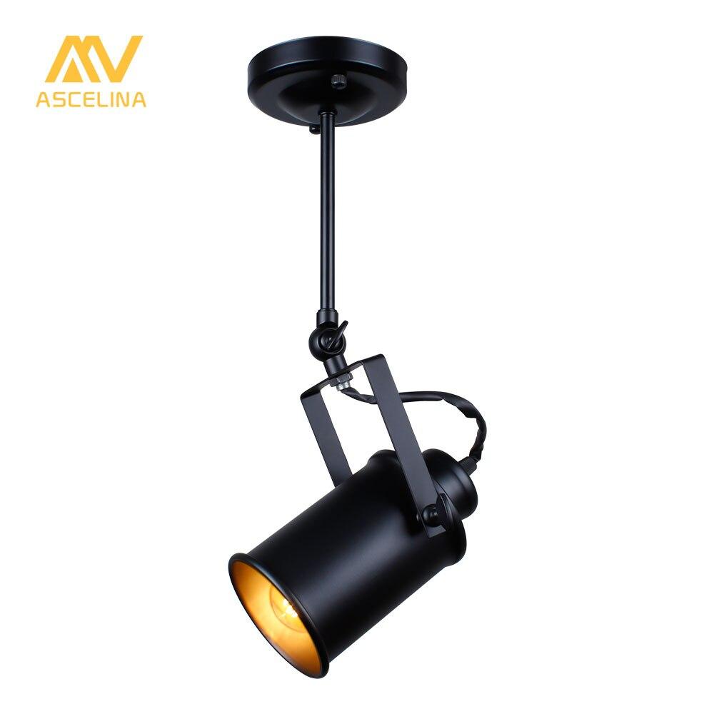 Industrielle Pendentif Lumière Cru Loft pendentif lumière Spots Américain pendentif Lampe LED Lampe Restaurant café bar décoration