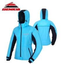 BENKIA Women s Motorcycle Racing Suit Spring Summer Coat Motorcycle Jackets Female Riding Wind coat Windbreaker