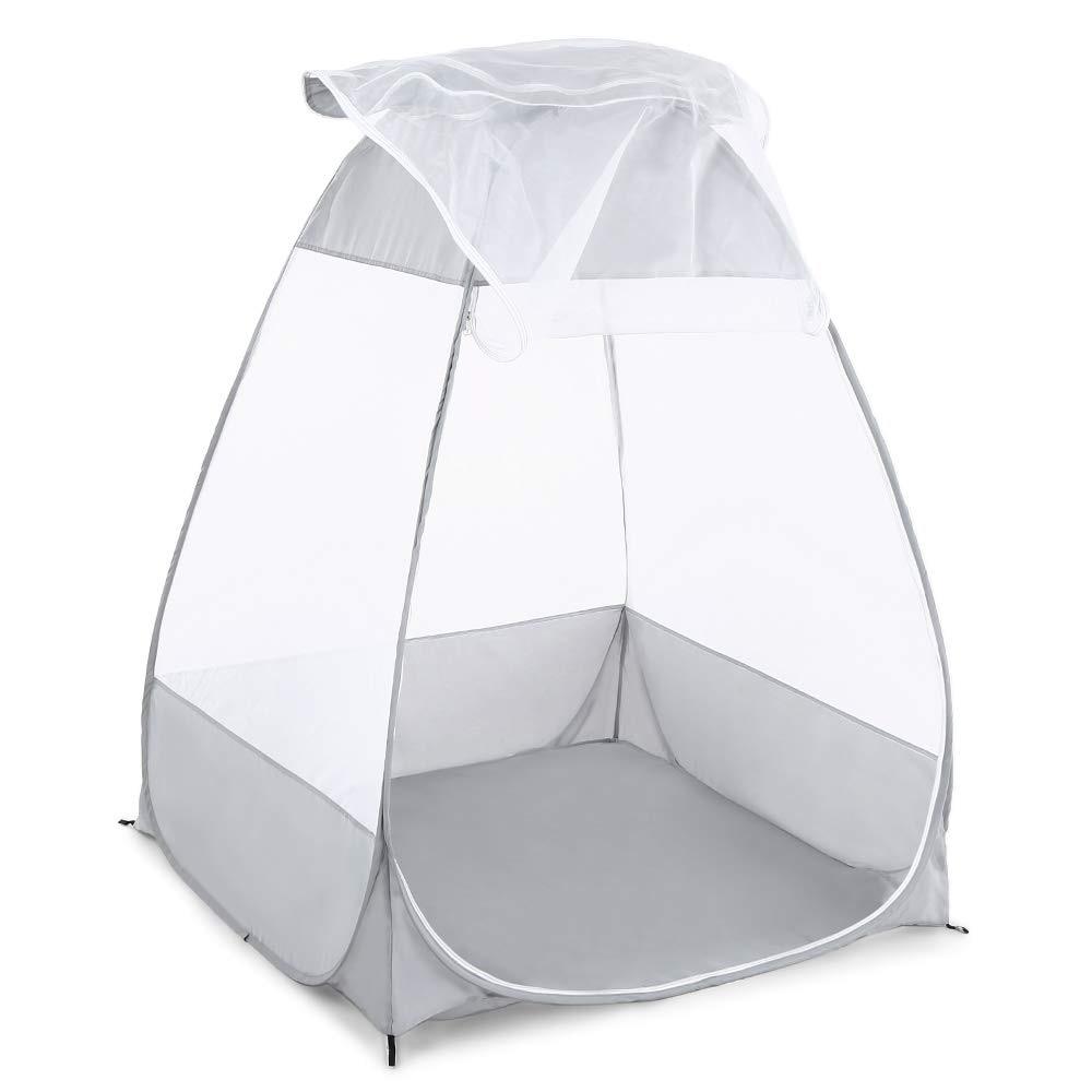 Moustiquaire extérieure méditation Camping tente simple sit-in abri autoportant Cabana pliage rapide Camping tente Yoga Suppli #8