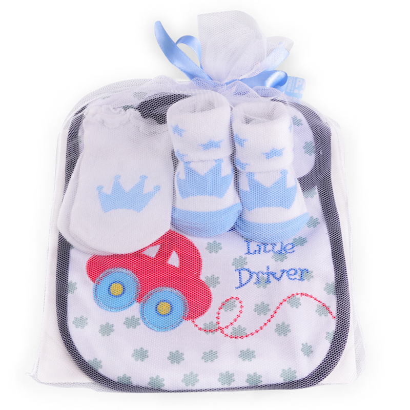 Redkite Baby Socks Sets With Bibs Mittens sets Unisex Cute Love