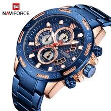 NAVIFORCE hommes montres Top marque mode Sport montre hommes étanche luxe Quartz montre bracelet mâle Date horloge Relogio Masculino