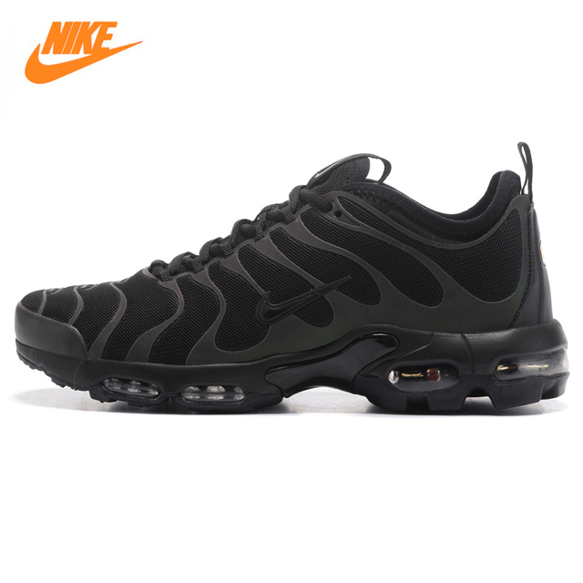 NIKE AIR MAX PLUS TN ULTRA Men's Running Shoes, Black, Wear-resistant Shock