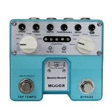 MOOER Reverie Reverb Digital Reverb pedal five different categories of reverb ef