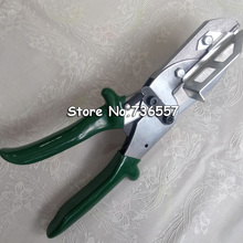 Резкий трафаретная печать скребок Scissor зеленый цвет цельный резиновый резак легко работать Клей длина