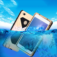 Original IMatch Shockproof Case For Xiaomi Mi Max 2 Luxury Daily Waterproof Hard Metal Silicone Case
