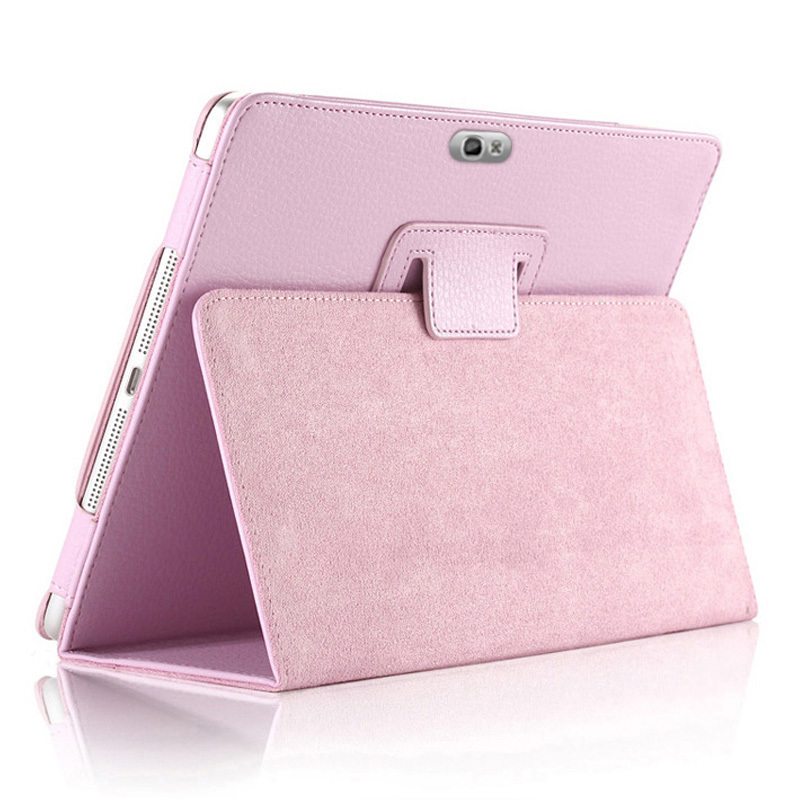 Magnet Case For Samsung Galaxy Note 10.1 2012 GT-N8000 N8000 N8010 N8020 Tablet Cover Flip Stand PU Leather Cap Folio Stand Back