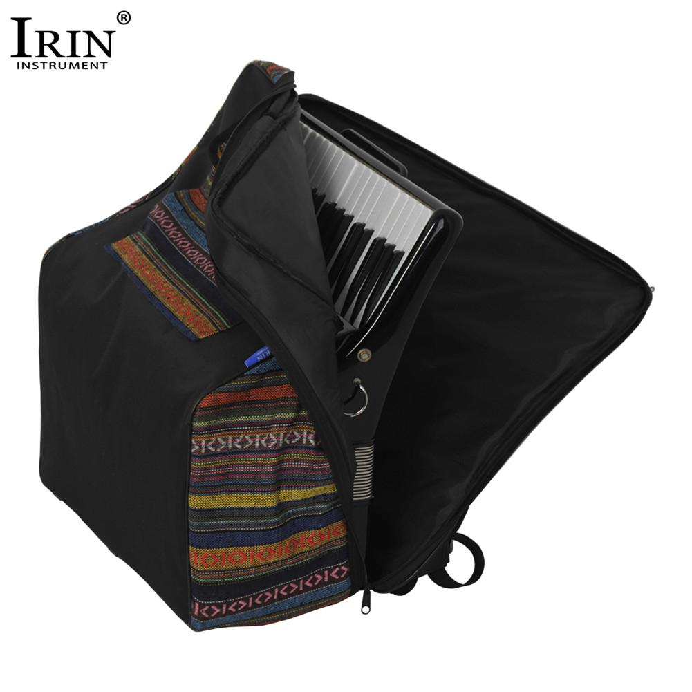 IRIN IN-106 National Style Accordion Gig Bag Soft Cover Carrying Case for 48 Bass - 120 Backpack