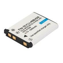Bateria de Substituição MAH para Olympus Recarregável Filmadoras Câmera DA Bateria 1200 Acessórios para Li-40b e 42b-s