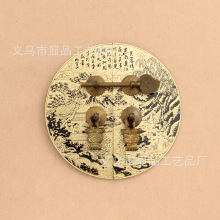 Ming cabinet factory direct copper fittings furniture accessories vintage antique cabinet door handle